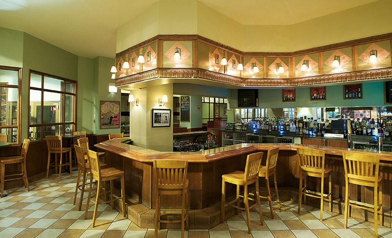 Silversmith Hotel Before Renovation Bar