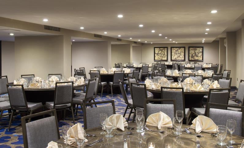 Hilton Parsippany Ballroom After Renovation