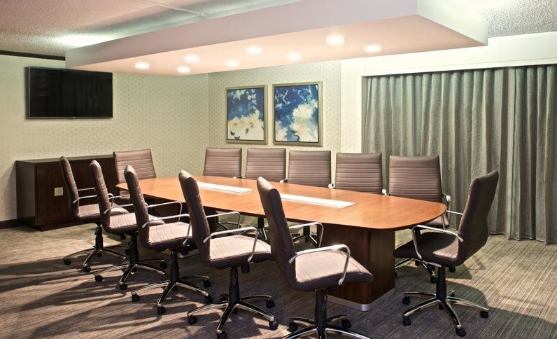 Hilton Parsippany Executive Boardroom AFTER