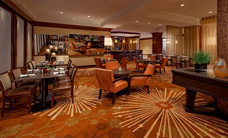 Hyatt Regency Long Island before Renovation Restaurant