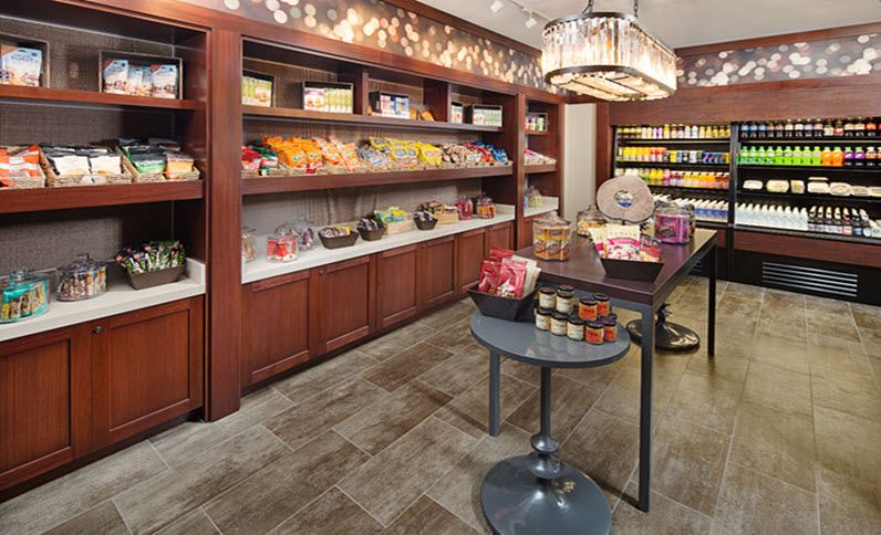 Dallas Marriott Suites Medical/Market Center Corner Pantry