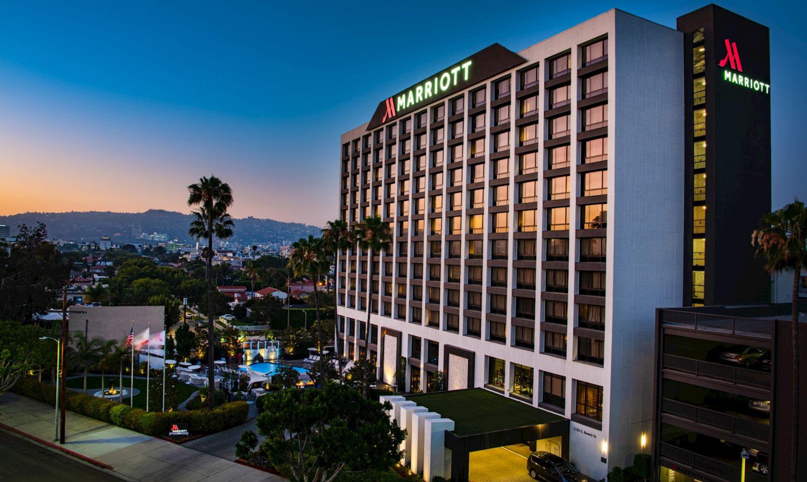 beverly hills marriott remington hotels. Black Bedroom Furniture Sets. Home Design Ideas
